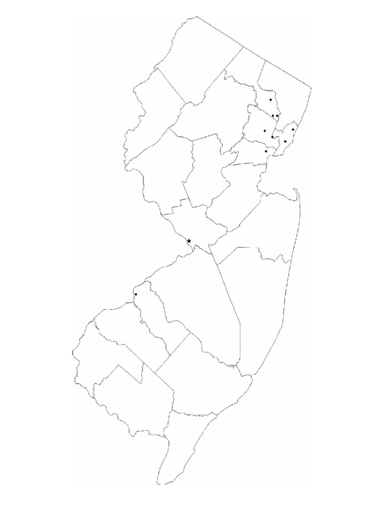 new jersey map template