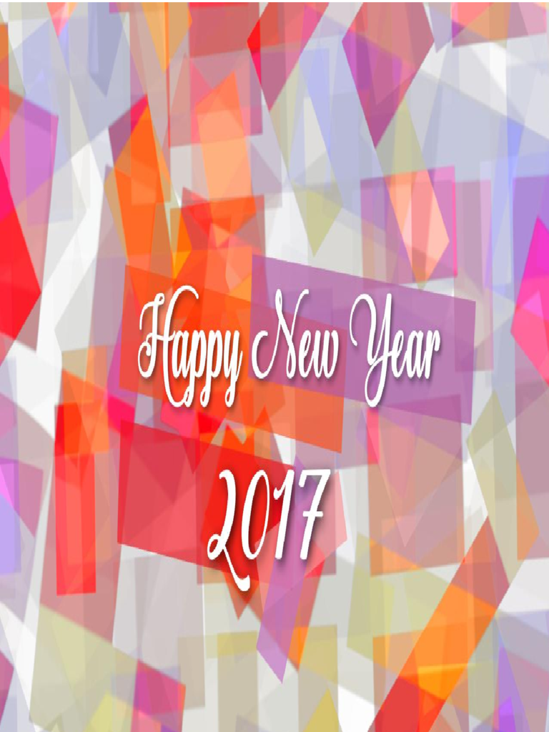 New Year Greeting Cards 2017 Zrom