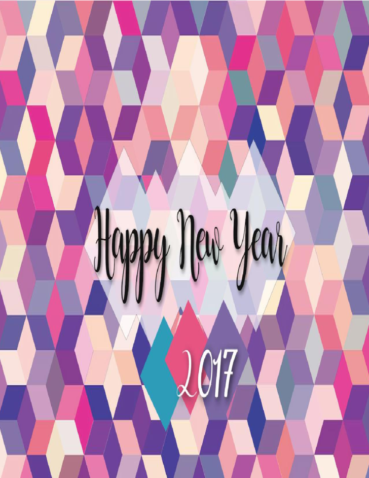 Happy New Year Greeting Card 2017 Free Download