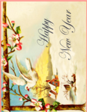 Beautiful New Year Card Free Download