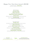 Happy New Year Menu Free Download