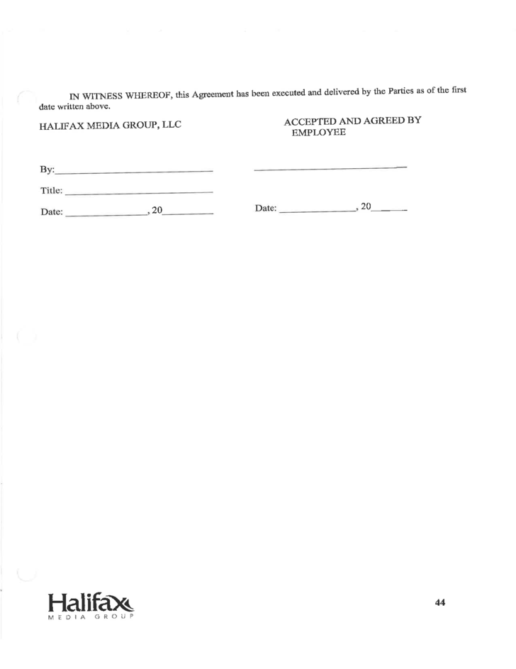 Employee Non Solicitation Non Compete And Confidentiality Agreement