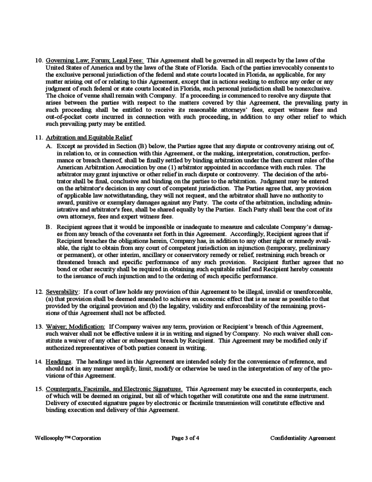 non compete agreement form template