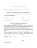 West Virginia Notice to Pay Rent or Vacate