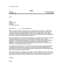 Cover Letter Sample for Nursing Free Download