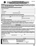 Form MV-653V - Volunteer Fire/Ambulance Company Certification of Eligibility - New York