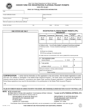 Form MV-464L - Order Form for Registration Plates/In-Transit Permits - New York Free Download