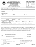 Form MV-463 - Application for Dealer Plate Issuance Program - New York Free Download