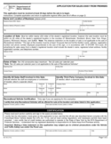 Form MV-700 - Application for Sales Away from Premises - New York Free Download