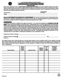 Form MV-262 - Certification of Supervised Driving - New York Free Download