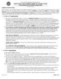 Form MV-664.1 - Application for a Parking Permit or License Plates - New York