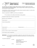Form VS-94 - Public Emissions Inspection Waitlist Application - New York