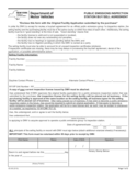 Form VS-95 - Public Emissions Inspection Buy/Sell Agreement - New York