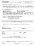 Form MV-15D - Motor Vehicle Record Search Account Application - New York Free Download