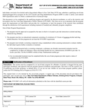Form DS-1 - Out-of-State Drinking/Drugged Driving Program Enrollment and Status Form - New York Free Download