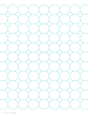 Octagon Graph Paper with 1-Inch Spacing on Letter-Sized Paper Free Download