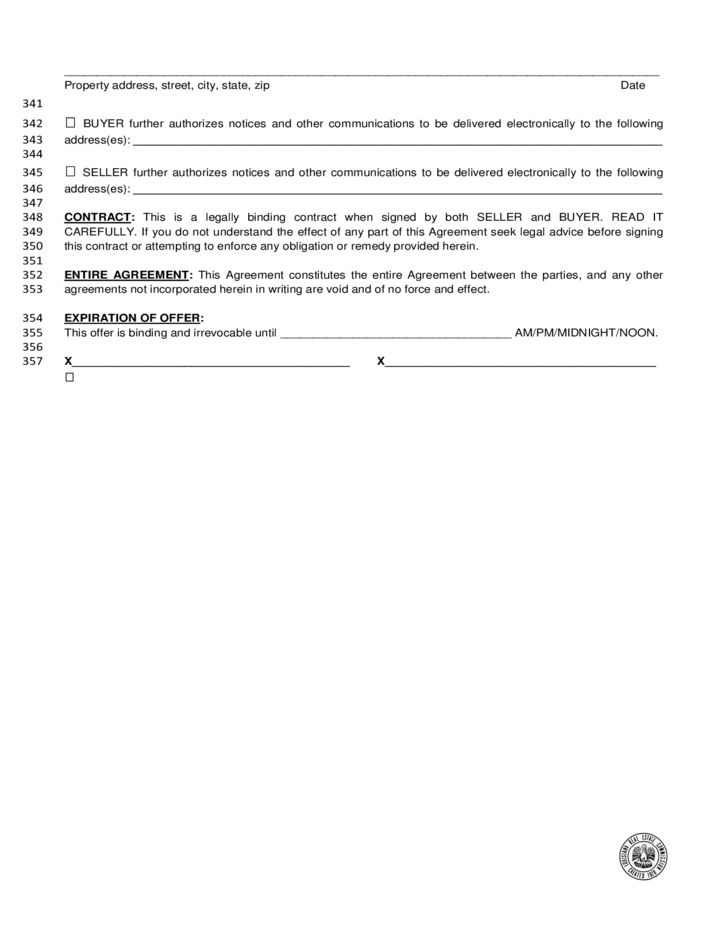 Louisiana Residential Agreement To Buy Sell Free Download