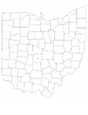 Blank Ohio City Map Free Download