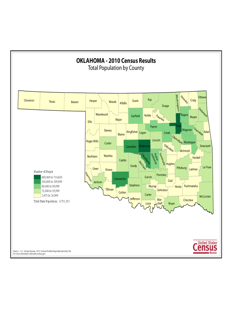 Oklahoma Map Template  8 Free Templates In PDF Word