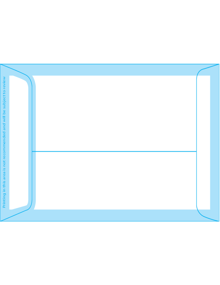 6 x 8 envelope template - open end envelopes 6 coin 3 3 8 x 6 back free download