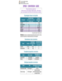 Opioid Conversion Guide Chart - Western Australia Free Download
