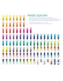 Sample Pantone Color Chart Free Download
