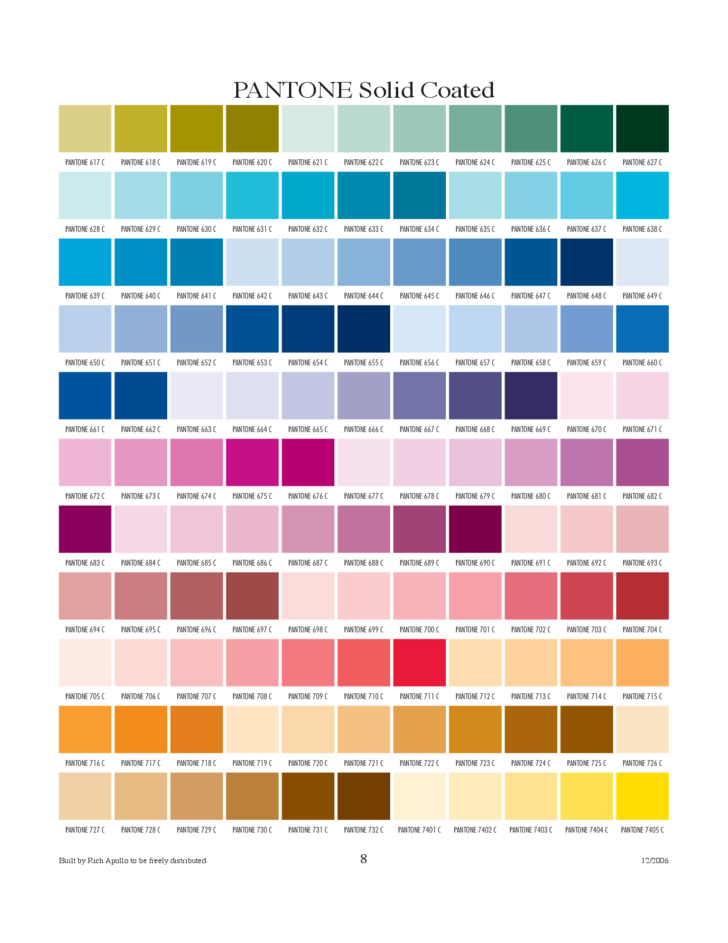 pantone solid coated chart free download. Black Bedroom Furniture Sets. Home Design Ideas