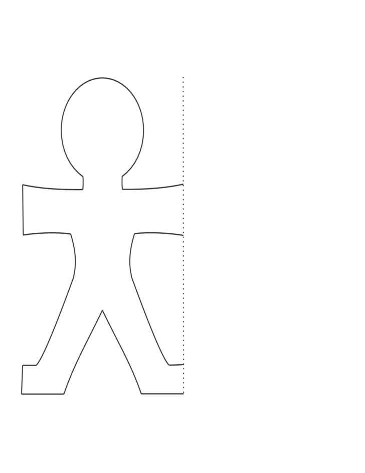 1 Sample Paper Doll Template