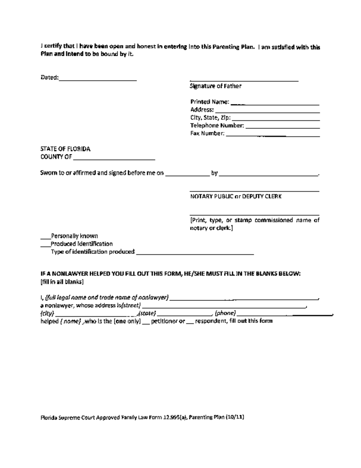 sample-parenting-plan-template-florida-l13 Power Of Attorney Template Alberta on assignment template, power of god, general poa template, contract template, marriage certificate template, invoice template, letter of credit template, power of prayer, estoppel template, power of limited government, power of sale homes, title template, commission template, power of stones meaning, security template, affidavit template, injunction template, power of positive thinking, reference template, contempt of court template,