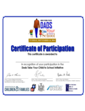 Sample Certificate of Participation Free Download