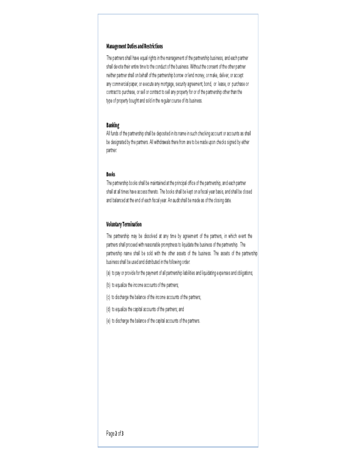 Small Business Partnership Agreement Template.partnership Agreement Template  Microsoft Word Templates. Sample Business Partnership Agreement U2013 9  Documents ...