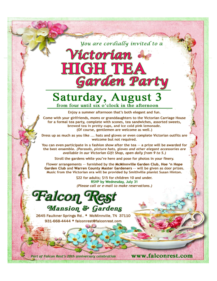 Tea Party Flyer Free Download