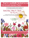 Garden Party Flyer Free Download