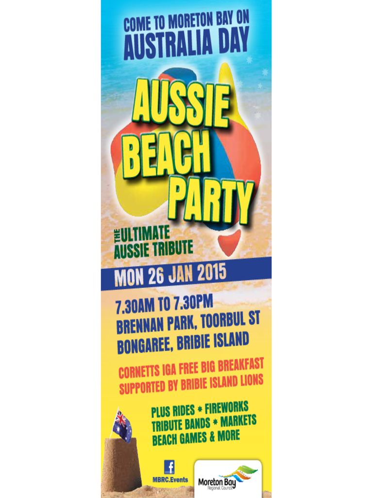 Beach Party Flyer Free Download