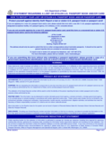 Statement Regarding A Lost or Stolen U.S. Passport Book and/or Card - United States Free Download