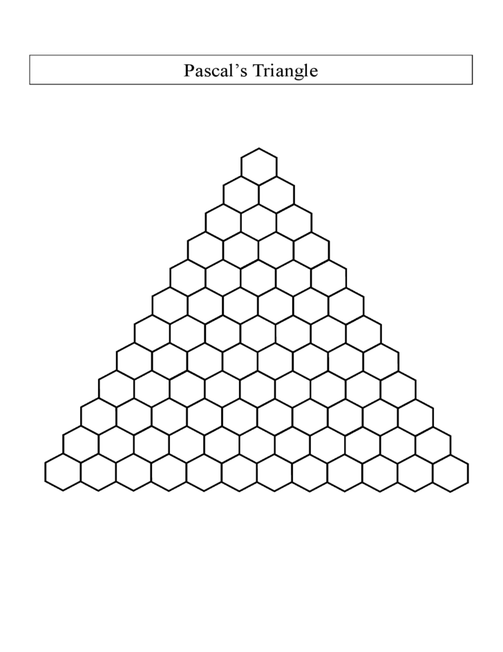 Pictures Pascal Triangle Worksheet - Studioxcess