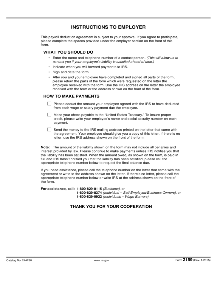 Payroll Deduction Agreement Free Download