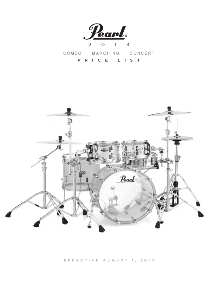 2014 Price List - Pearl Corporation
