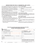 REV-1667R - W-2 Transmittal Free Download