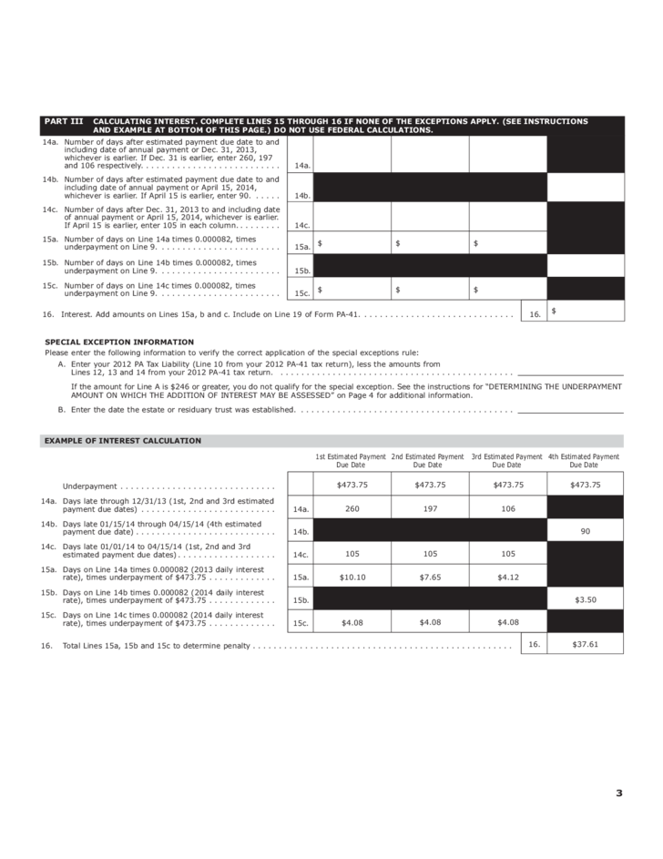PDF form underpayment of estimated tax 2210me by individuals Free – Estimated Tax Form
