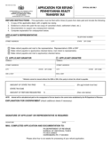 REV-1651 - Application for Refund PA Realty Transfer Tax Free Download