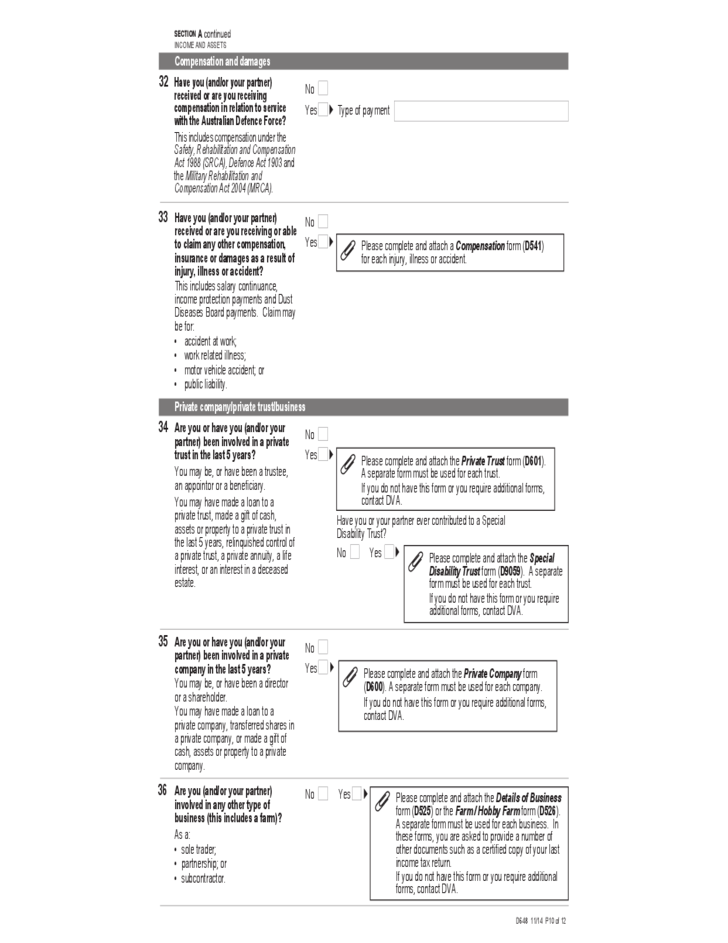 The Pension Service Claim Sample Form Free Download – Pension Service Claim Form