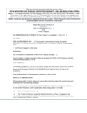 Performance Contract Sample Free Download