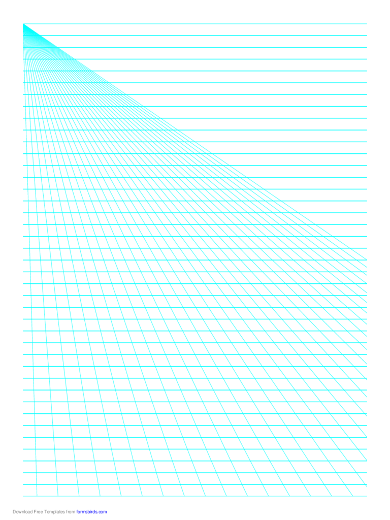 Perspective Paper - Left with Horizontal Lines