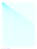 Perspective Paper - Left with Horizontal Lines Free Download