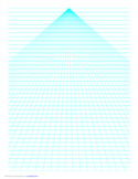 Perspective Paper - Center with Horizontal Lines Free Download