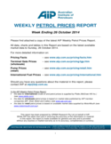 Weekly Petrol Prices Report - Australia Free Download
