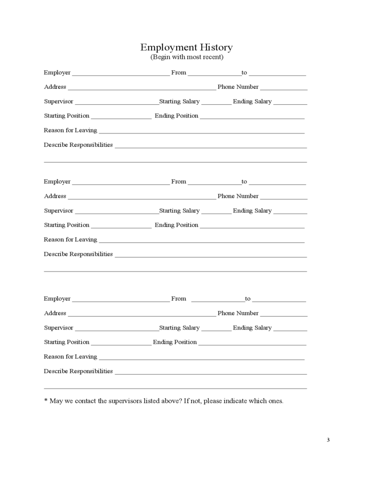cvs employment application form free download