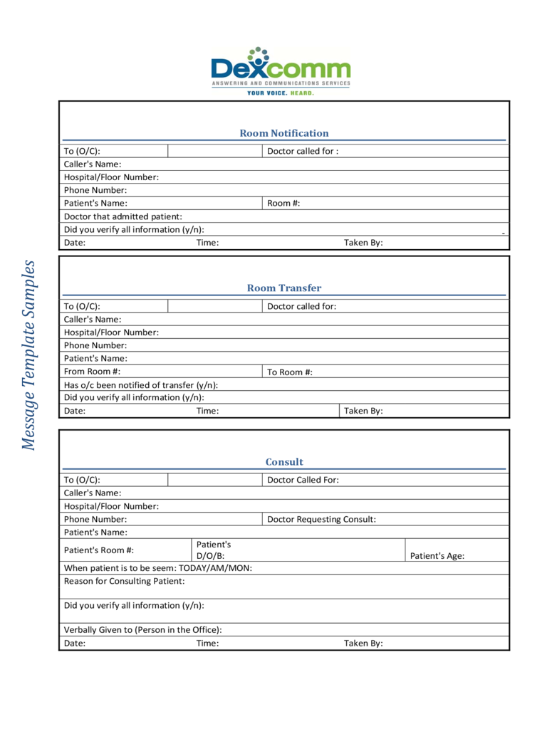 Phone message template 6 free templates in pdf word for Emergency message templates