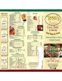 Pizza Menu Sample Free Download